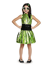 Kids Buttercup Costume - The Powerpuff Girls