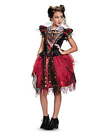 Tween Red Queen Costume - Alice Through the Looking Glass