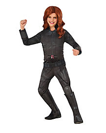 Tween Black Widow Costume - Marvel