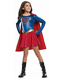 Kids Supergirl Costume - Supergirl