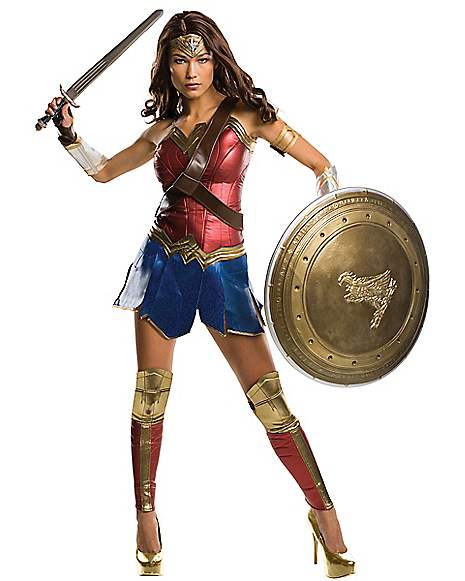 Adult Wonder Woman Costume Theatrical - Dawn Of Justice  sc 1 st  Spirit Halloween & Best Wonder Woman Halloween Costumes for 2018 - Spirithalloween.com