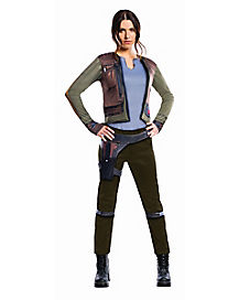 Halloween Movie Costumes adult rey costume star wars 7 the force awakens Adult Jyn Erso Costume Deluxe Rogue One A Star Wars Story