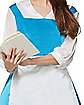 Adult Belle Blue Dress Costume – Beauty and The Beast