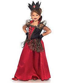 Kids Red Queen Costume