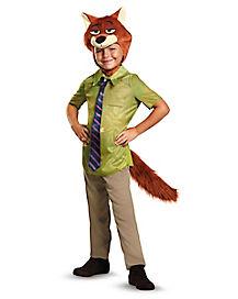 Kids Nick Wilde Costume - Zootopia