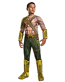 Kids Aquaman Costume Deluxe – DC Comics