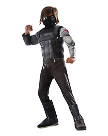 Kids Winter Soldier Costume Deluxe – Captain America The Winter Soldier