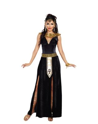 1930s Costumes- Bride of Frankenstein, Betty Boop, Olive Oyl, Bonnie & Clyde Adult Exquisite Cleo Costume by Spirit Halloween $54.99 AT vintagedancer.com