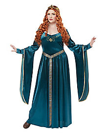 Adult Lady Guinevere Plus Size Costume
