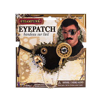 Victorian Steampunk Clothing & Costumes for Ladies Steampunk Eye Patch $8.99 AT vintagedancer.com