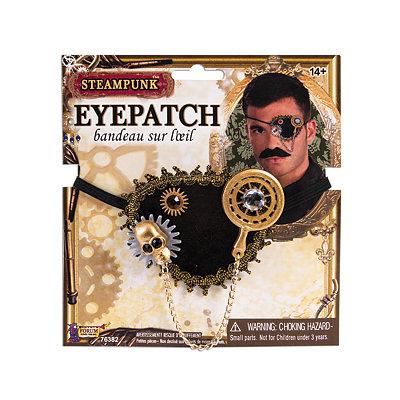 Men's Steampunk Goggles, Guns,  Accessories Steampunk Eye Patch $8.99 AT vintagedancer.com