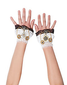 Steampunk Wrist Gloves