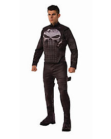 Adult Punisher Costume Deluxe - Marvel