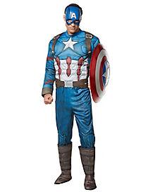 Adult Captain America Costume - Captain America Civil War