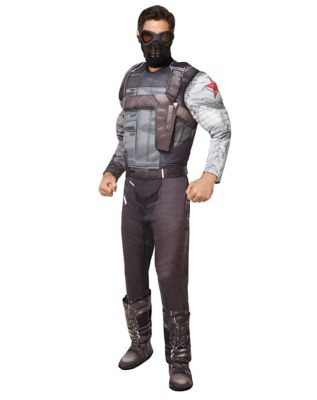 Adult Winter Soldier Costume Deluxe – Captain America The Winter Soldier
