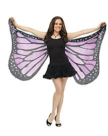 Purple Butterfly Wings