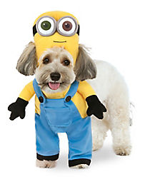 bob minion dog costume despicable me - Halloween Costumes For Labradors
