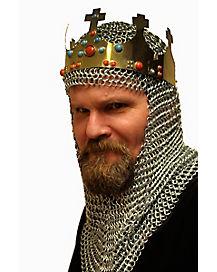 Golden Gilded King Crown