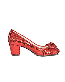 Glitter Ruby Slipper Pumps - The Wizard Of Oz