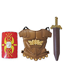 Knight Body Armor With Shield and Sword