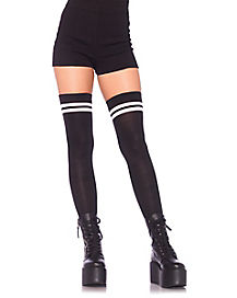 Athletic Thigh High Stockings