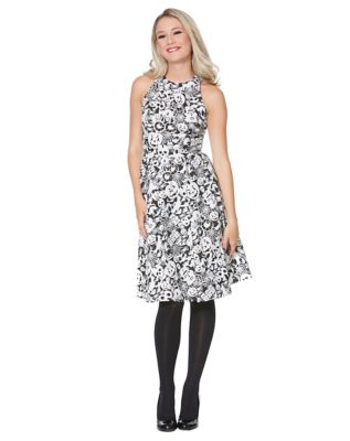 Vintage Retro Halloween Themed Clothing Creatures Of The Night Glow In The Dark Dress by Spirit Halloween $59.99 AT vintagedancer.com