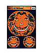 Jack O Lantern Window Clings
