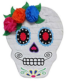 sugar skull pinata decorations - Day Of The Dead Halloween Decorations