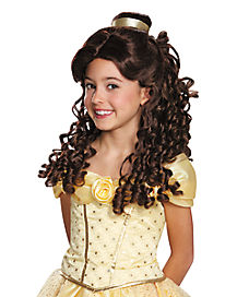Kids Belle Wig Prestige - Beauty and the Beast