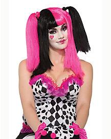 Sweetheart Clown Wig