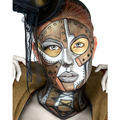 Victorian Steampunk Clothing & Costumes for Ladies Steampunk Makeup Kit $24.99 AT vintagedancer.com