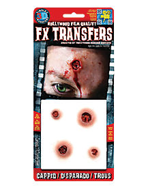 Capped Makeup FX Transfers