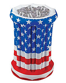 2 Ft Patriotic Inflatable Drink Cooler - Decorations
