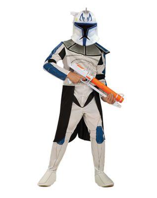 Kids Clone Trooper Captain Rex Costume Star Wars Clone Wars