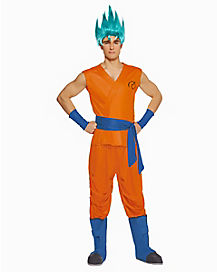 Adult Goku Costume - Dragon Ball Z Resurrection F  sc 1 st  Spirit Halloween & Dragon Ball Z Resurrection Costumes | Goku Costume - Spirithalloween.com