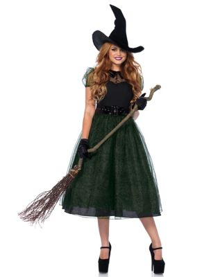 1950s Costumes- Poodle Skirts, Grease, Monroe, Pin Up, I Love Lucy Adult Darling Spellcaster Costume by Spirit Halloween $54.99 AT vintagedancer.com