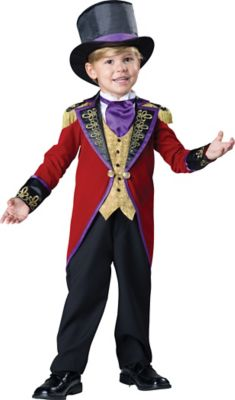 Steampunk Kids Costumes | Girl, Boy, Baby, Toddler Toddler Ringmaster Costume - The Signature Collection by Spirit Halloween $69.99 AT vintagedancer.com