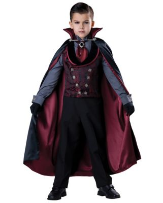 Steampunk Kids Costumes | Girl, Boy, Baby, Toddler Kids Midnight Count Costume - The Signature Collection by Spirit Halloween $99.99 AT vintagedancer.com