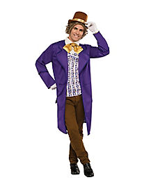 Adult Willy Wonka Costume Deluxe - Willy Wonka and the Chocolate Factory