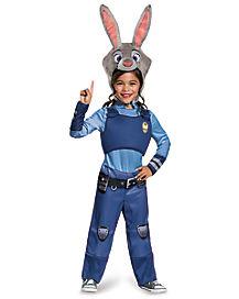 Kids Judy Hopps Costume-Zootopia