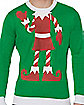 Adult Elf Ugly Christmas Sweater
