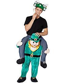 Adult Leprechaun Piggyback Costume