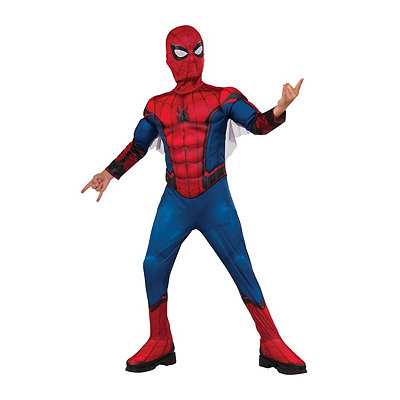 Kids Spider-Man One Piece Costume Deluxe - Spider-Man: Homecoming