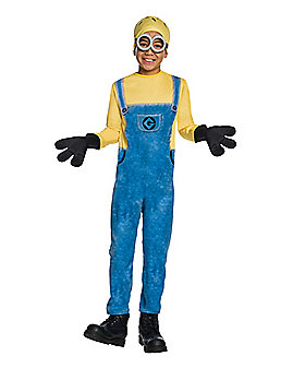 Kids Jerry Minions One Piece Costume - Despicable Me 3