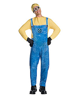 Adult Jerry the Minion One Piece Costume - Despicable Me 3