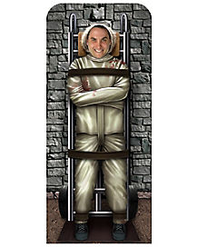 6 Ft Restrained Convict Cut Out - Decorations
