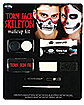 Torn Face Skeleton Makeup