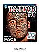 Temporary Face Tattoo