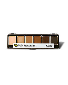 Wolfe Flesh Hydrocolor Theatrical FX Makeup Palette