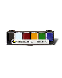 Wolfe Basic Hydrocolor Theatrical FX Makeup Palette